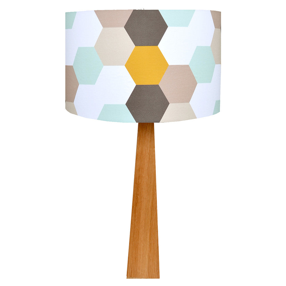 Hexagons Table Lamp - hunkydory home