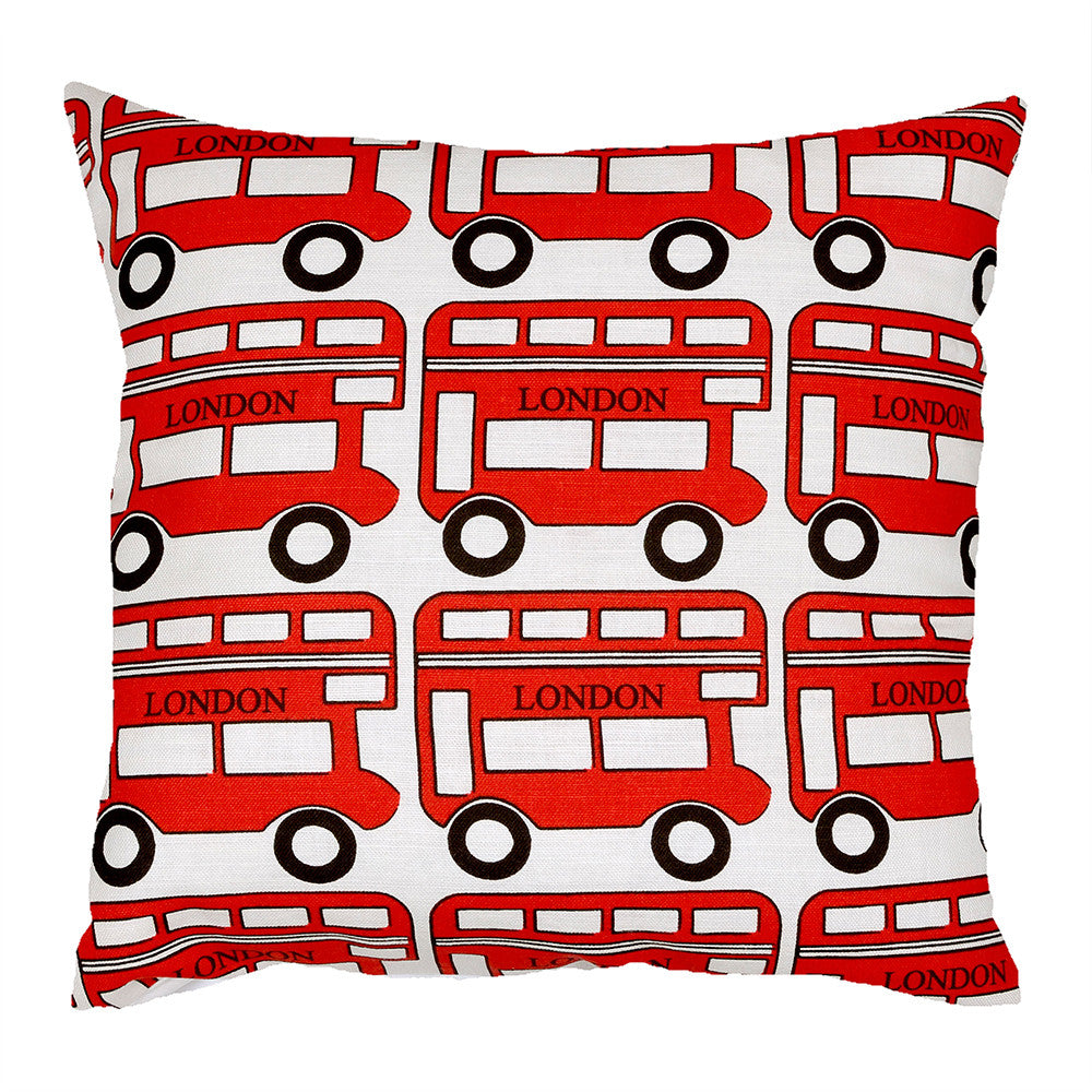 London Bus Cushion - hunkydory home