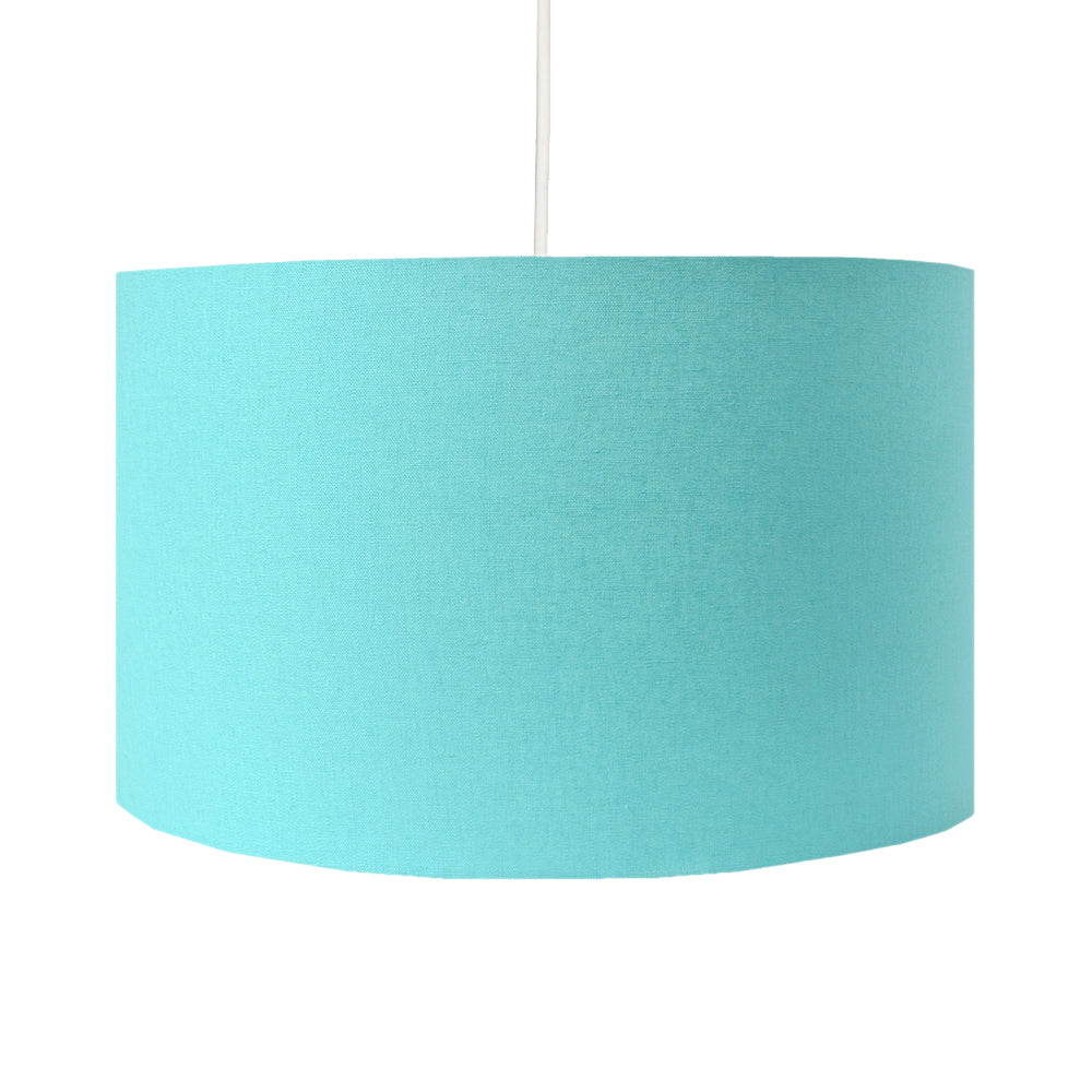 Turquoise Lamp Shade