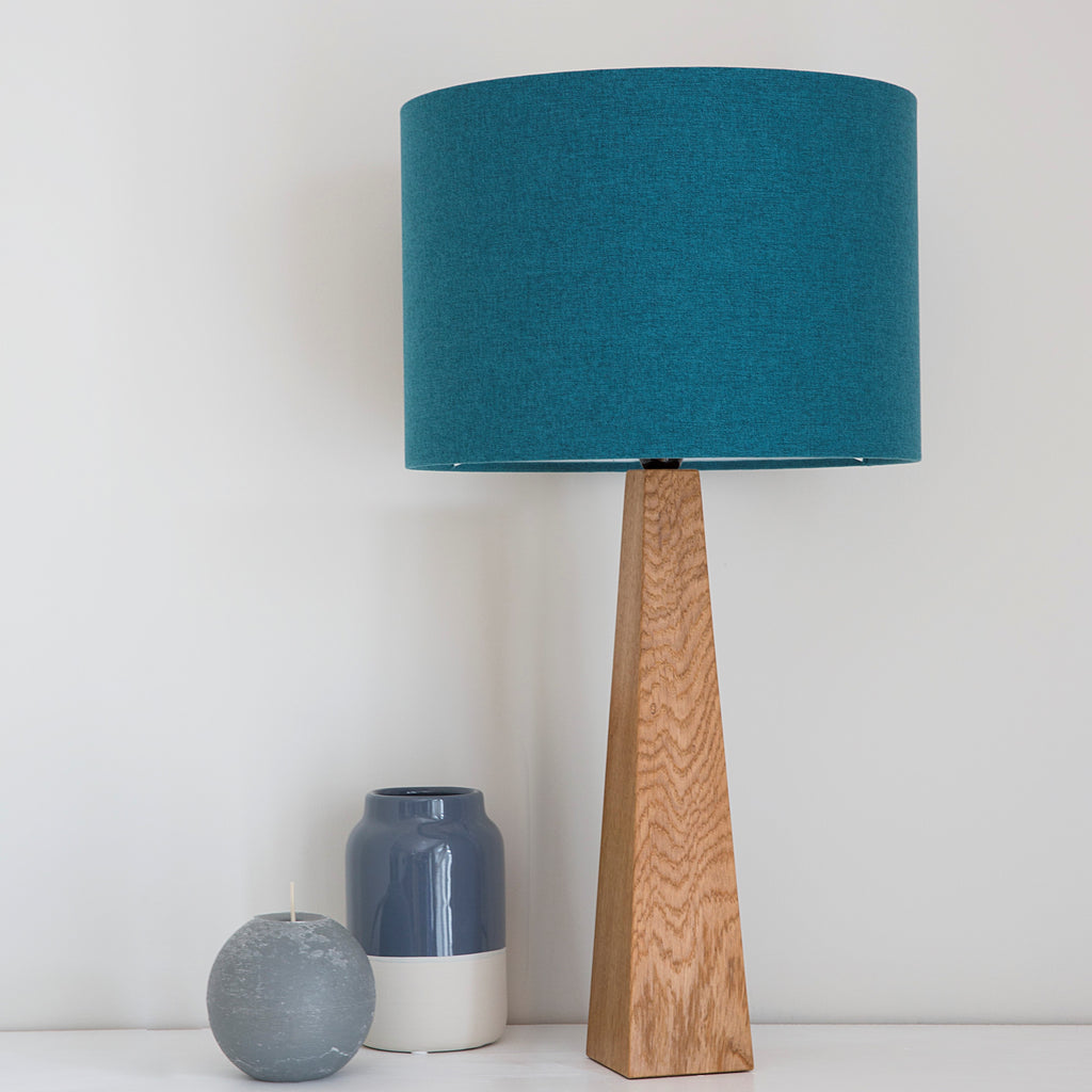 Peacock blue Table Lamp