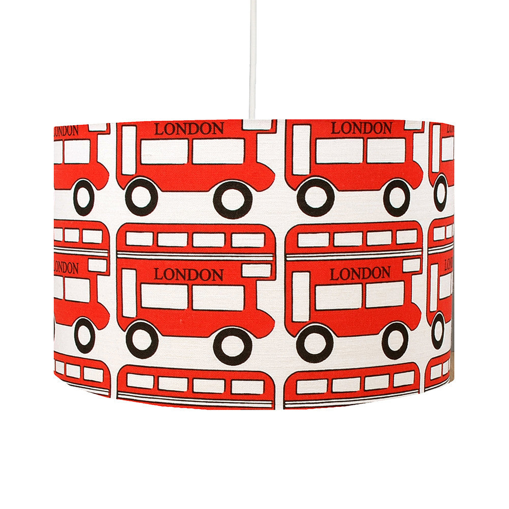 London Bus Lampshade - hunkydory home