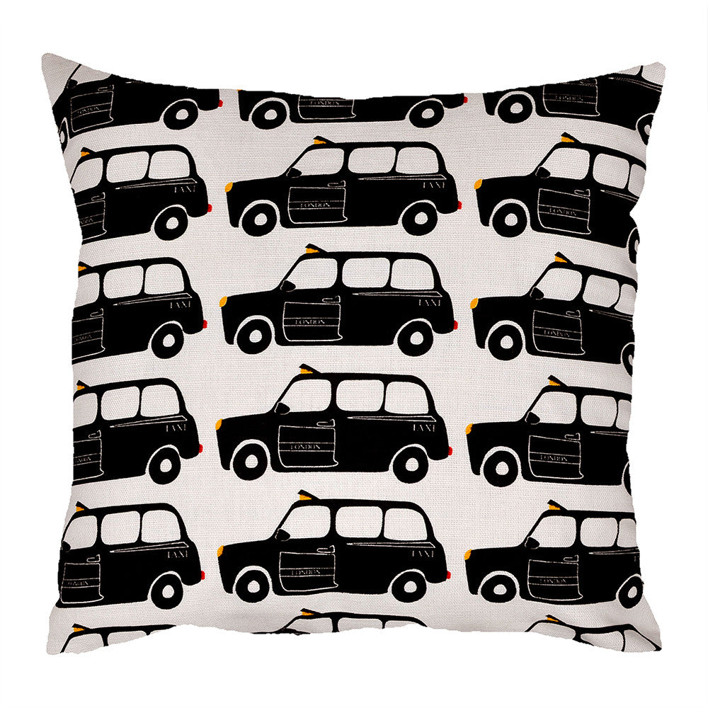London Black Cab Cushion - hunkydory home