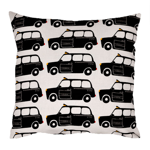 London Black Cab Cushion