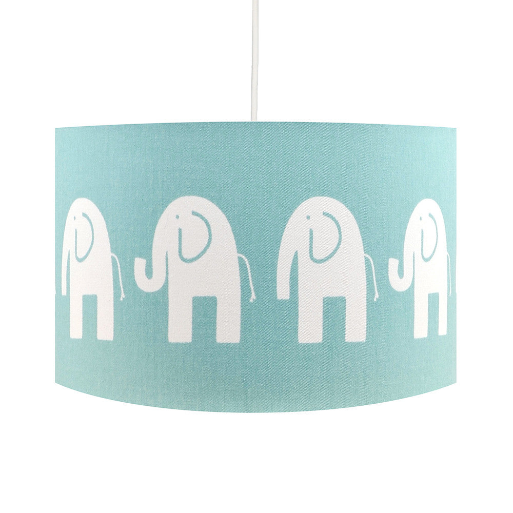 Duck Egg Elephant Lampshade - hunkydory home