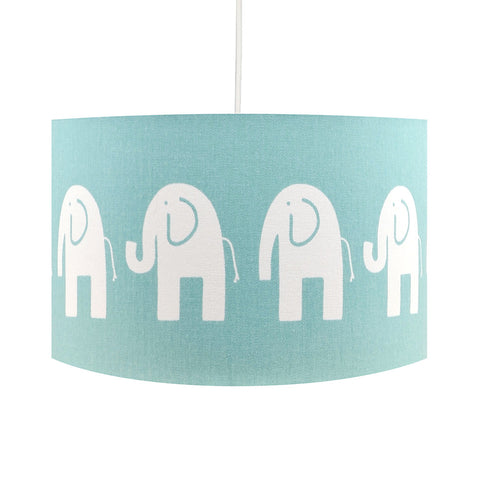 Duck Egg Elephant Lampshade