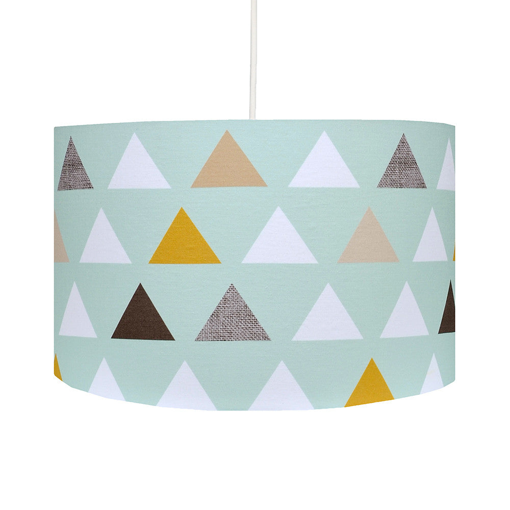 Triangles Lampshade - hunkydory home