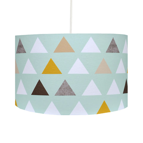 Triangles Lampshade
