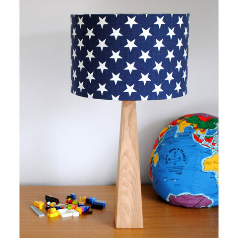 Blue Stars Table Lamp