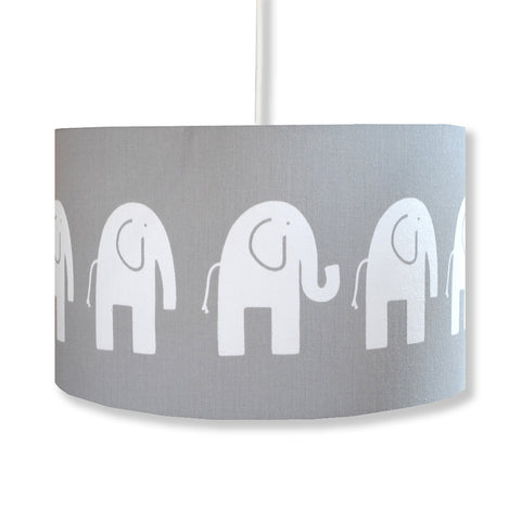 Grey Elephant Lampshade