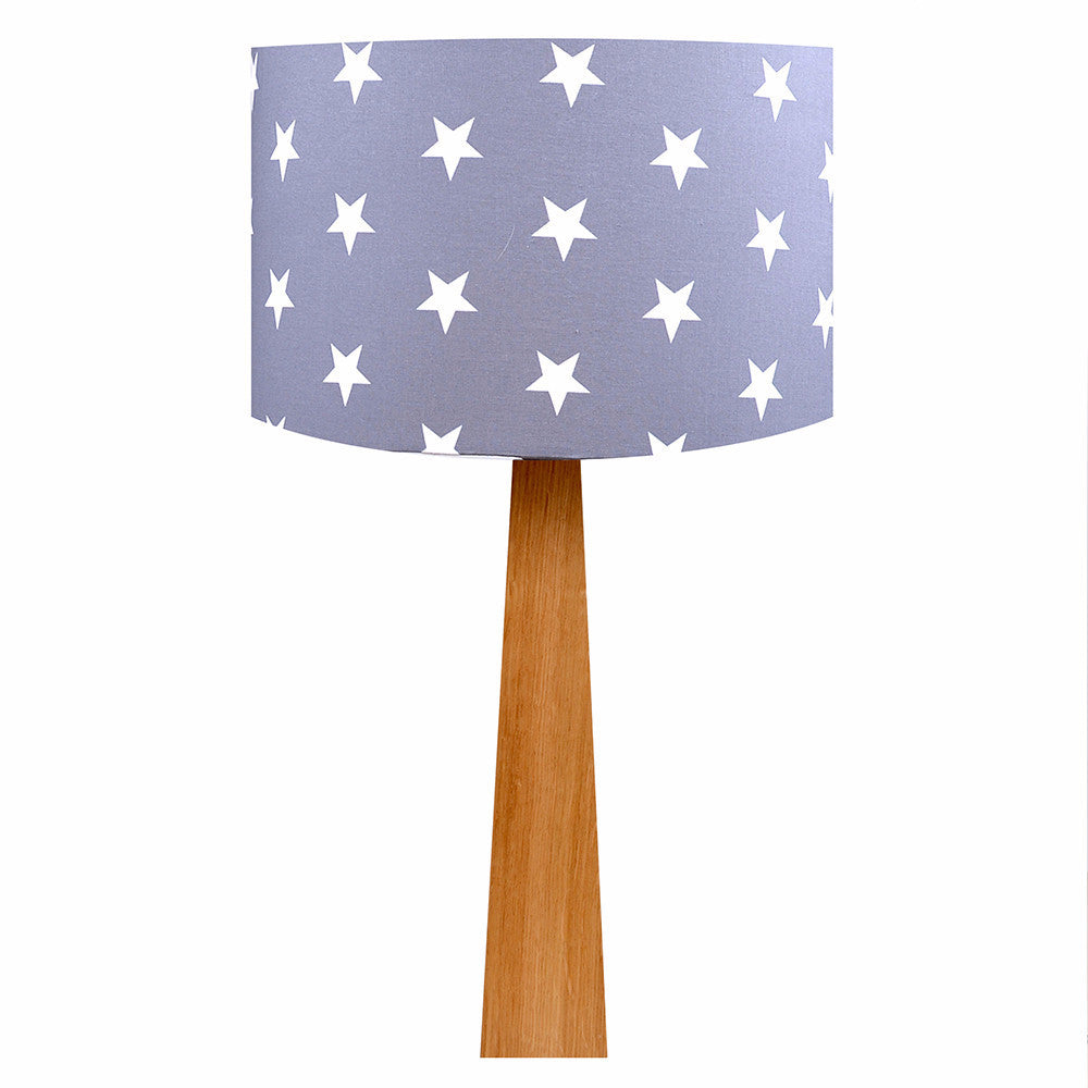Grey Stars Table Lamp - hunkydory home
