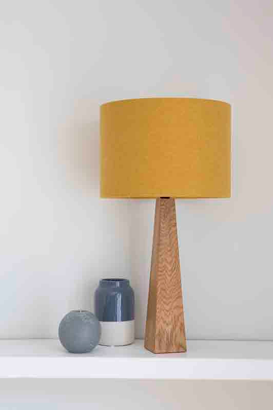 Mustard Yellow Table Lamp