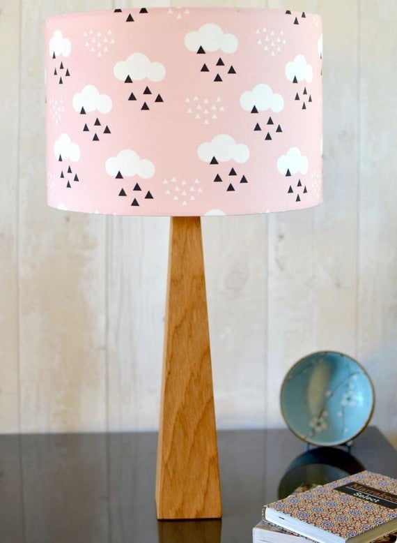 Pink Scandi Clouds Table Lamp
