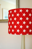 Red Stars Lampshade - hunkydory home  - 2