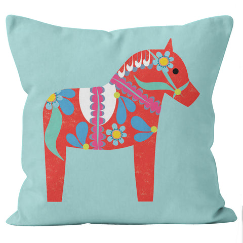 Swedish horse cushion