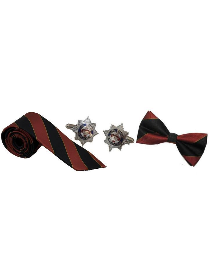 Official Merchandise for 4th/7th Royal Dragoon Guards, 4th/7th Royal Dragoon Guards Tie Tie, 4th/7th Royal Dragoon Guards Cufflinks, 4th/7th Royal Dragoon Guards Bow Tie, 4/7 Dragoon Guards Tie