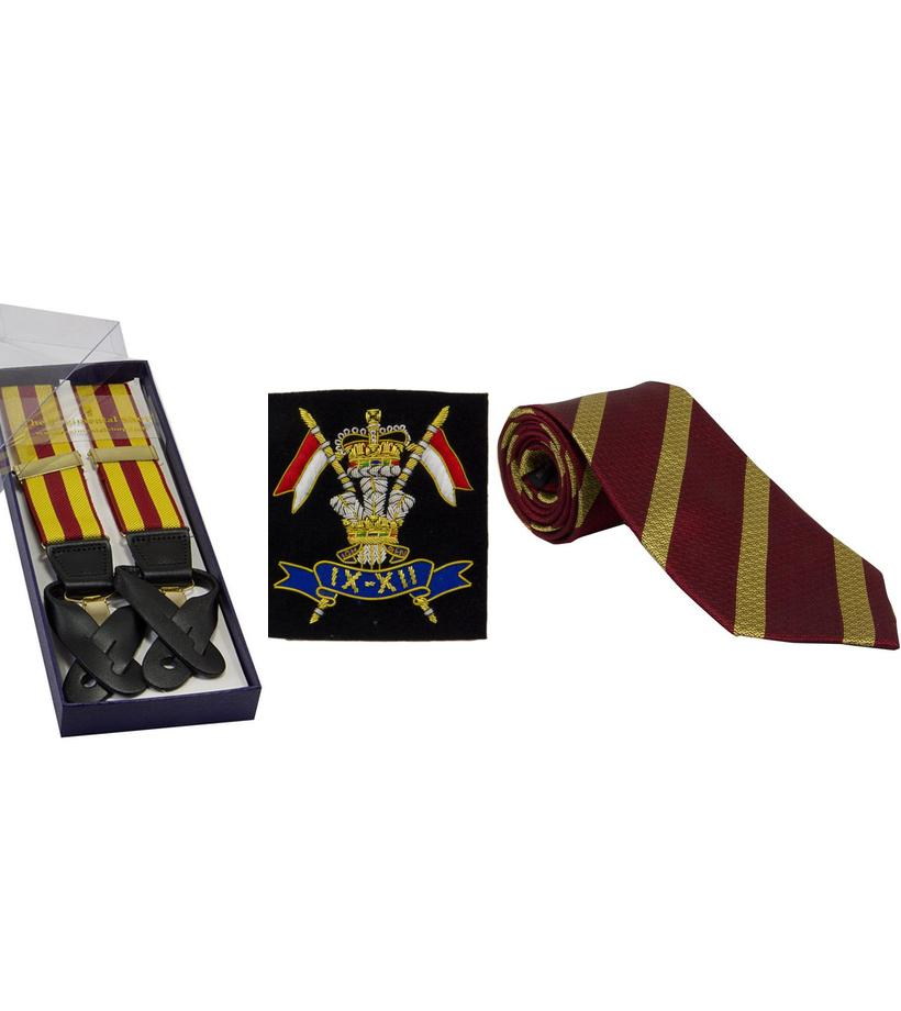 Official 9th/12th Royal Lancers Merchandise, 9th/12th Royal Lancers Shop, 9th/12th Royal Lancers Tie, 9th/12th Royal Lancers Cufflinks, 9th/12th Royal Lancers, 9th/12th Royal Lancers Watch Strap