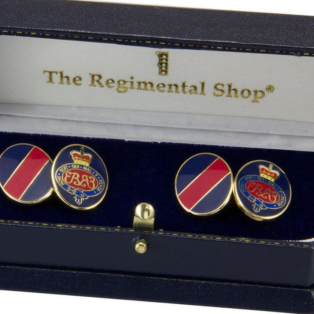 Regimental Cufflinks, Regimental Crest Cufflinks, Regiment Cufflinks