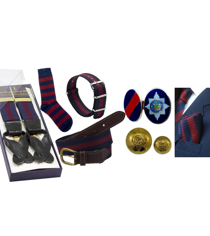 Official Irish Guards Merchandise, Irish Guards PRI, Irish Guards Birdcage Walk Shop, Irish Guards Shop, Irish Guards Tie, Irish Guards Cufflinks, Irish Guards Socks, Irish Guards