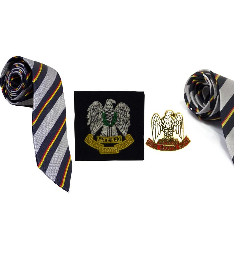 Official Royal Scots Greys Merchandise, Royal Scots Greys Tie, Royal Scots Greys Cufflinks, Royal Scots Greys Blazer Badge, Royal Scots Greys Shop, Royal Scots Greys Museum Shop