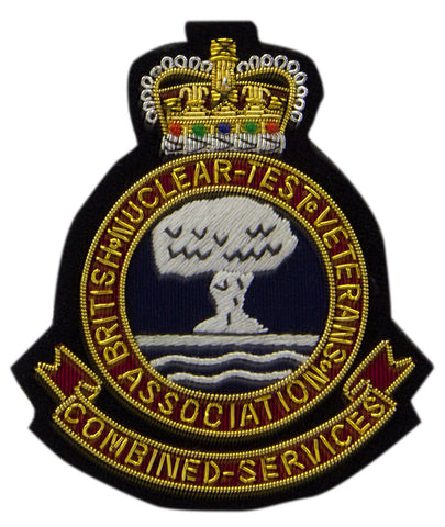 British Nuclear Test Veterans' Blazer Badge