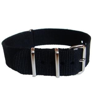 Black G10 Watchstrap