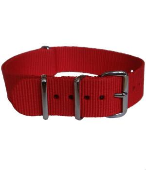 Red G10 Watchstrap