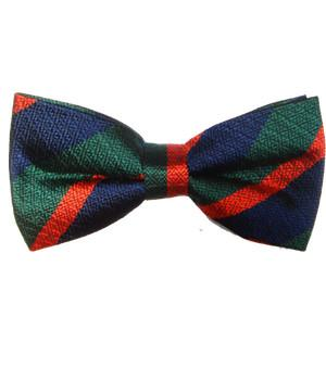 Royal Irish Regiment Silk Non Crease (Pretied) Bow Tie - regimentalshop.com