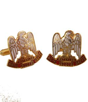 Royal Scots Greys Cufflinks - regimentalshop.com