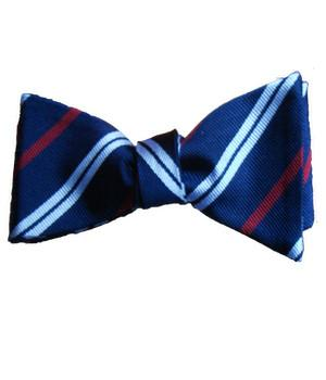 Royal Corps of Transport Silk (Self Tie) Bow Tie - regimentalshop.com