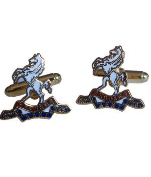 Queen's Own Royal West Kent Regiment Cufflinks - regimentalshop.com