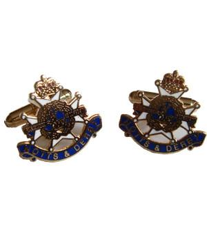 Sherwood Foresters Regiment Cufflinks - regimentalshop.com