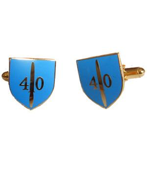 40 Commando Cufflinks - regimentalshop.com