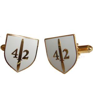 42 Commando Cufflinks - regimentalshop.com
