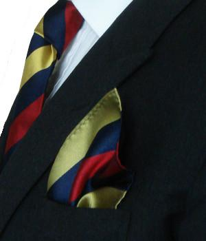 Royal Army Medical Corps (RAMC) Silk Pocket Square - regimentalshop.com