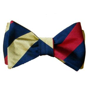 Royal Army Medical Corps Silk (Self Tie) Bow Tie