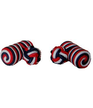 Royal Navy Barrel Cufflinks - regimentalshop.com