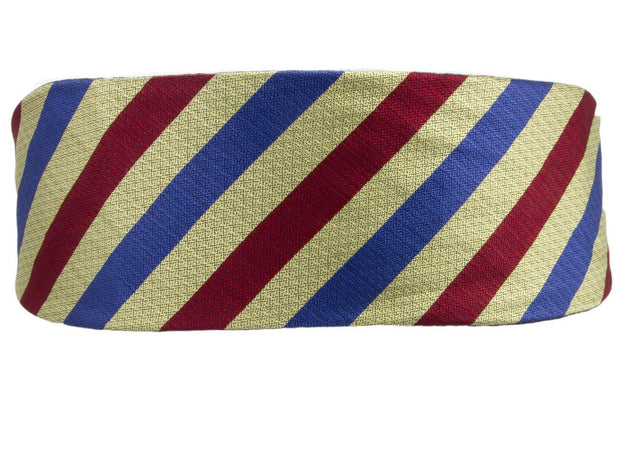 Queen's Dragoon Guards SAG Silk Non Crease Cummerbund - regimentalshop.com