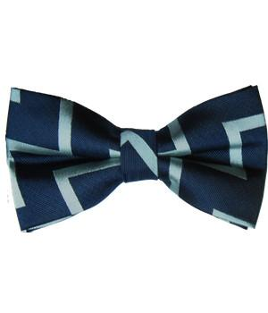 "Fleet Air Arm ""Zig Zag"" (Pretied) Silk Bow Tie - regimentalshop.com"