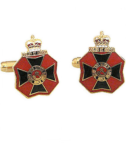 King's Royal Rifle Corps Cufflinks - regimentalshop.com
