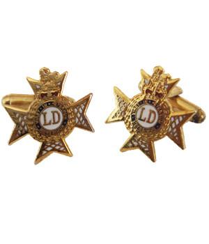 Light Dragoons Cufflinks - regimentalshop.com