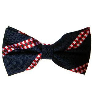 King's Own Scottish Borderers Silk Non Crease Pretied Bow Tie