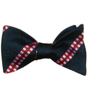 King's Own Scottish Borderers Silk Non Crease Self Tie Bow Tie