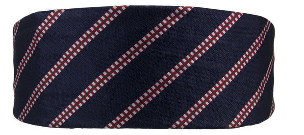 King's Own Scottish Borderers Silk Non Crease Cummerbund - regimentalshop.com