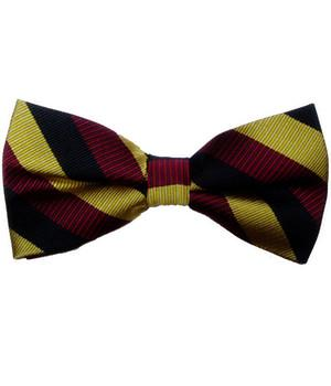 The Royal Hussars (PWO) Silk (Pretied) Bow Tie - regimentalshop.com