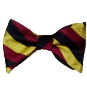 The Royal Hussars (PWO) Silk (Self Tie) Bow Tie