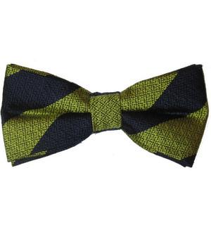 4th Queen's Own Hussars Silk Non Crease Pretied Bow Tie - regimentalshop.com