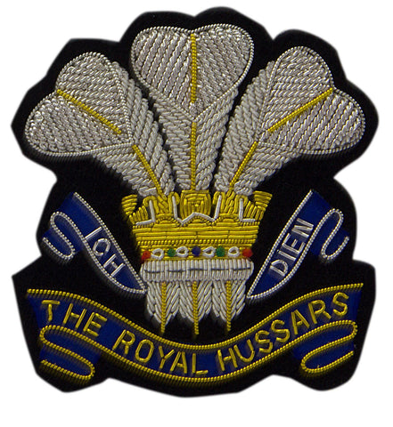 The Royal Hussars (PWO) Blazer Badge