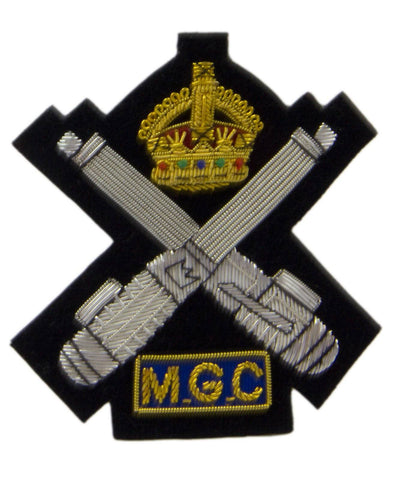 Machine Gun Corps Blazer Badge