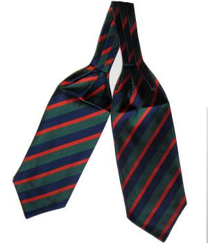 Royal Irish Regiment Silk Non Crease Cravat - regimentalshop.com