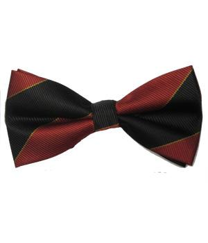 4/7 Royal Dragoon Guards Polyester (Pretied) Bow Tie - regimentalshop.com